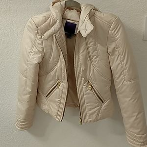 Forever 21 hooded puffer jacket sz S